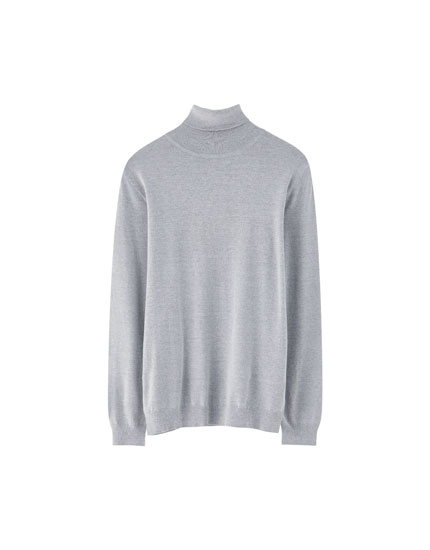Sweater cuello cisne
