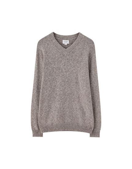 Basic V-neck sweater