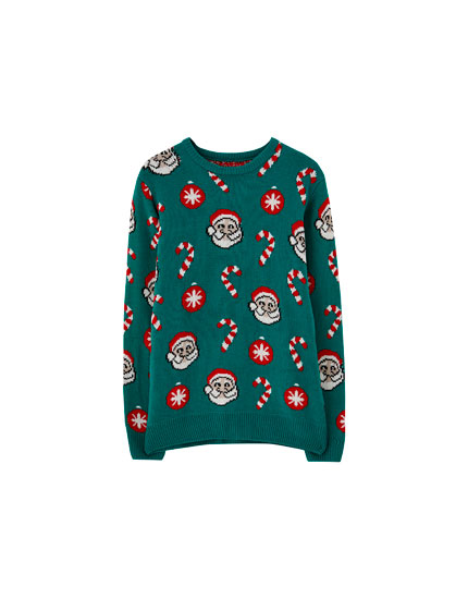 Father Christmas sweater