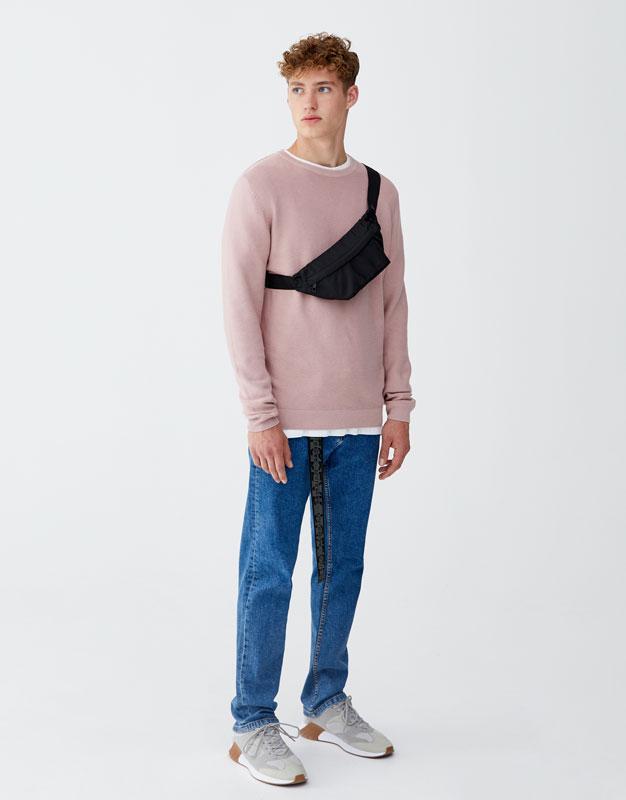 Pullover Basic Maglia Leggera by Pull & Bear