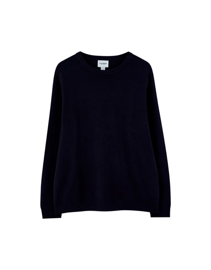 Double-knit sweater