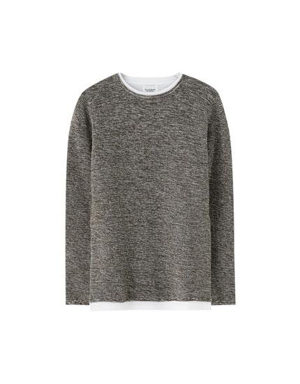 Jersey punto fino algodón