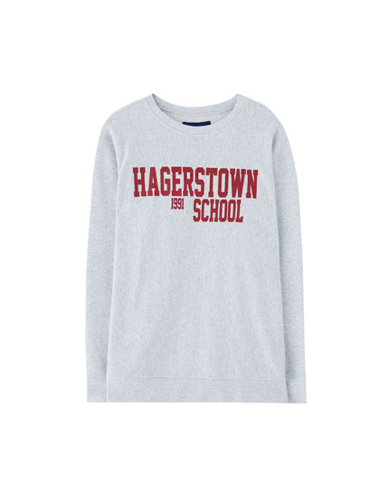 "College-Sweatshirt ""Hagerstown School"""
