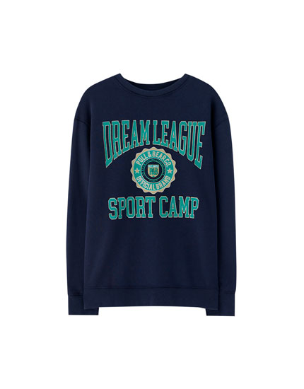 Sudadera college 'Sport Camp'