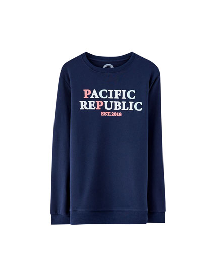 "Sweatshirt ""Pacific Republic"""
