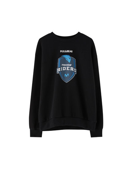 Round neck Movistar Riders sweatshirt