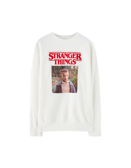Netflix Stranger Things sweatshirt with photo print