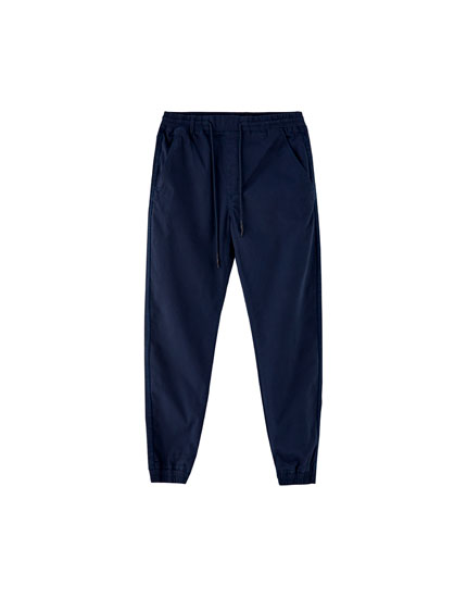 Cuffed beach trousers