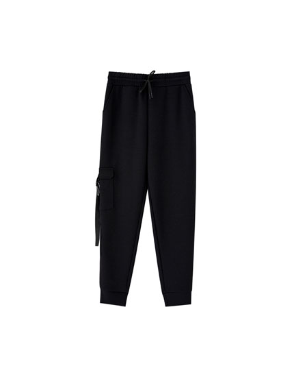 Pantalon jogging poches