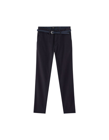 Pantalon chino skinny fit