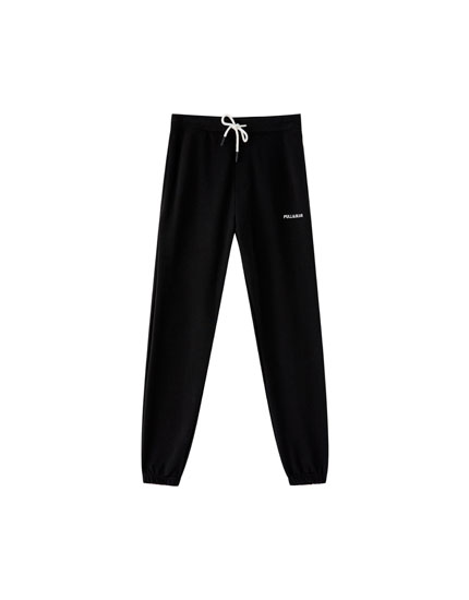Jogging trousers with logo