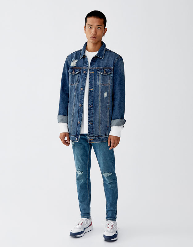 Jeans Carrot Fit Premium by Pull & Bear