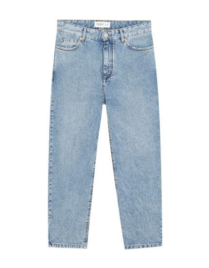 Embellished extra loose fit jeans