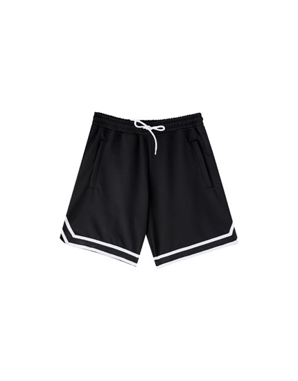 Basketball jogging shorts