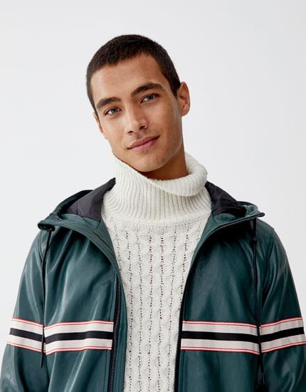 Simili Homme Cuir Manteaux En Et Vêtements Blousons Blouson SxqBzc5vg5