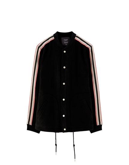 Woolly bomber jacket