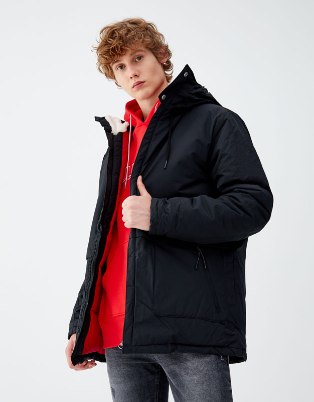 Capuchonjack Water Resistant by Pull & Bear