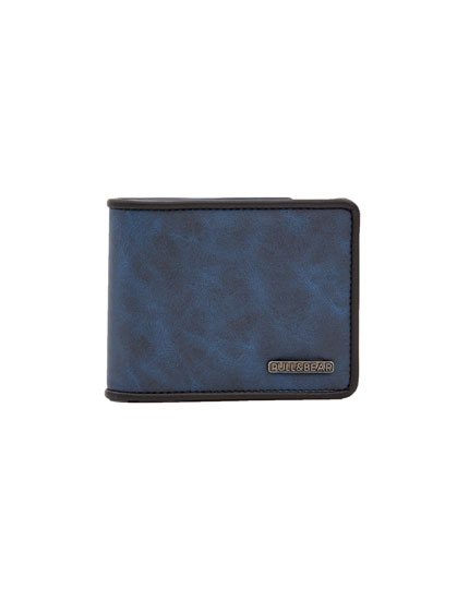 Wallet with black trim
