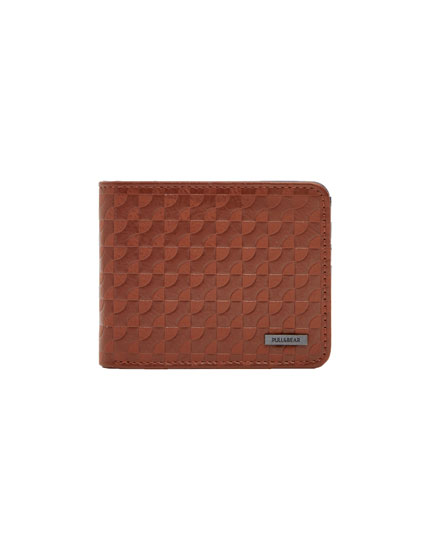 Brown retro wallet