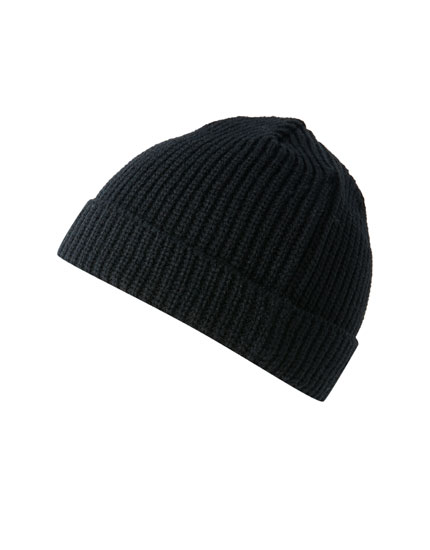Basic knit hat