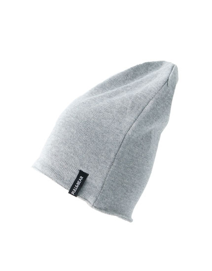 Fine knit cotton hat