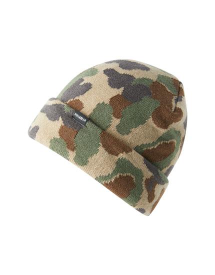 Mütze mit Camouflageprint