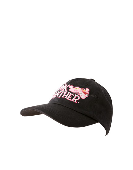 Black Pink Panther cap