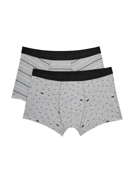 2-pack of sheep print boxers