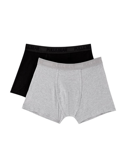 Pack of 2 basic boxers