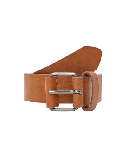 Basic light brown belt