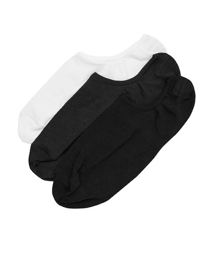 3-pack of shoeliner socks