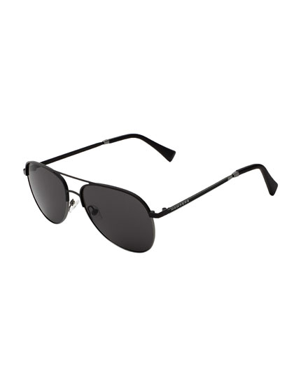 Hawkers Black Gunmetal Dark Lacma Sunglasses