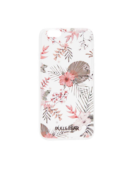 Carcasa flores tropicales iPhone 6/6S
