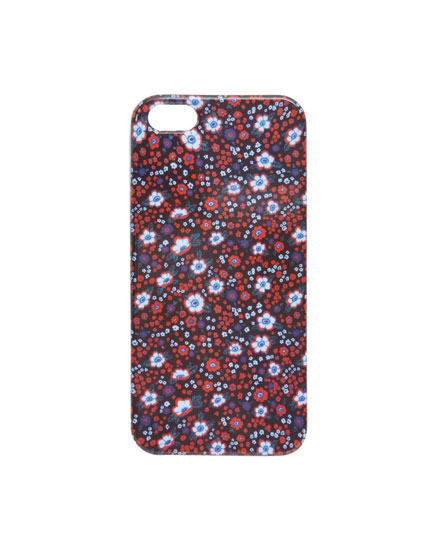 Cover a fiori rossi iPhone 5/5S