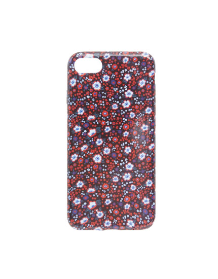 Red flowers iPhone 7/8 case