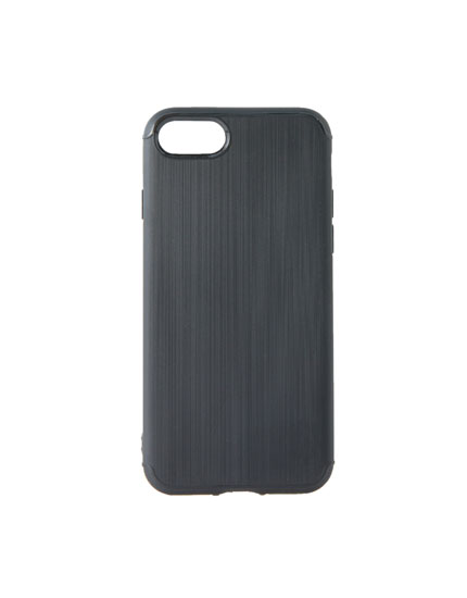 Black wood iPhone 7/8 case