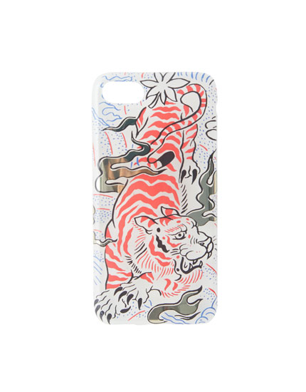 Coque imprimé tigre iPhone 7/8