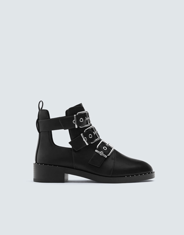 Plana Ankelboots Mode by Pull & Bear