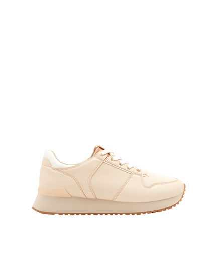 Pink urban sneakers