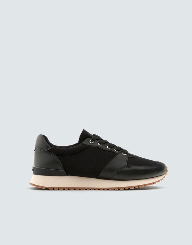 Svarta Sneakers Urban by Pull & Bear
