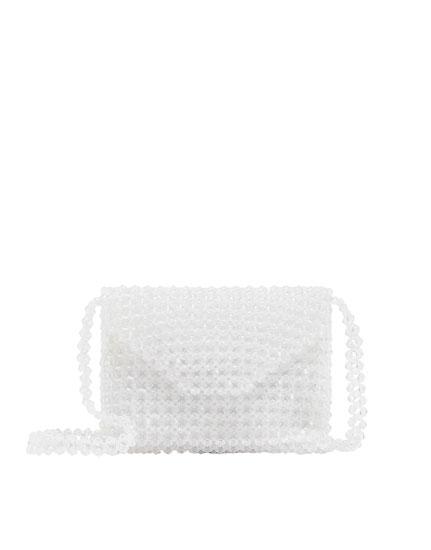 Bandolera bolitas transparente