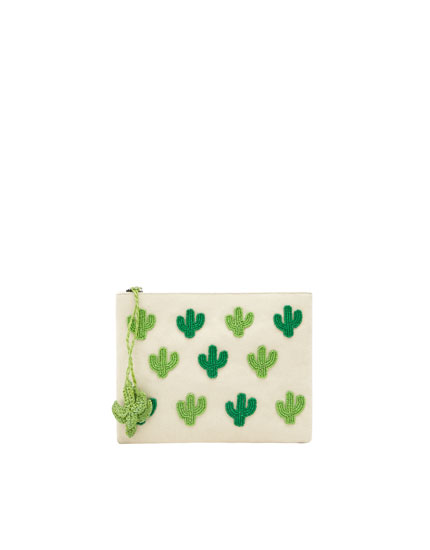 Cactus toiletry bag