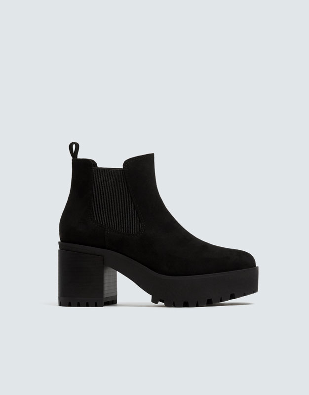 Bottines Chelsea Plateforme by Pull & Bear