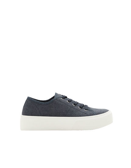 Join Life navy blue trainers
