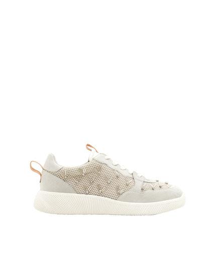 Pantofi sport cu mărgele