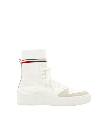 Retro sock-style sneakers