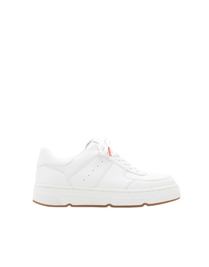 White school trainers