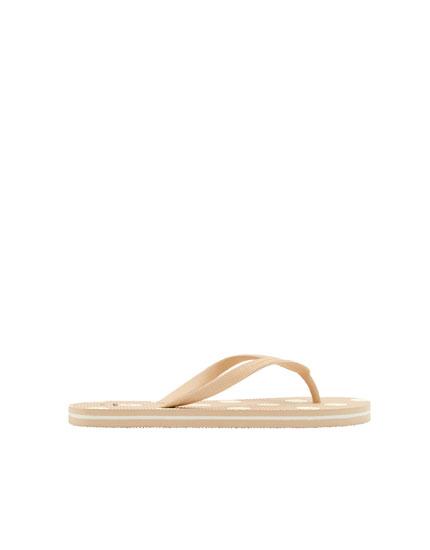 Sandalia topos rosa