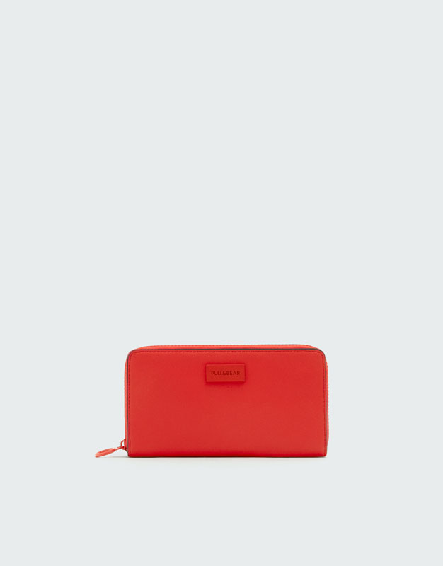 Red Wallet by Pull & Bear