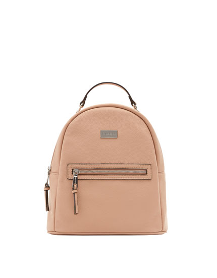 Nude urban backpack